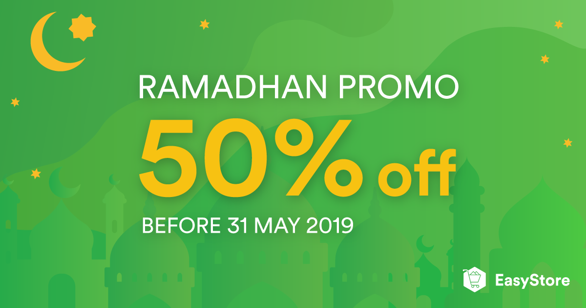 EasyStore Ramadhan Promotion